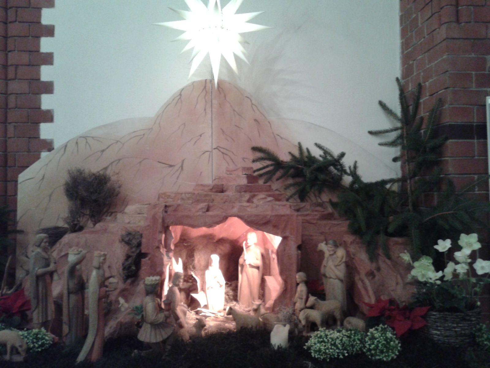 Gottesdienste zu Weihnachten 2018 und Neujahr 2019 in der Pfarrgemeinde St. Josef