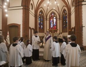 Ministranteneinführung in St. Josef