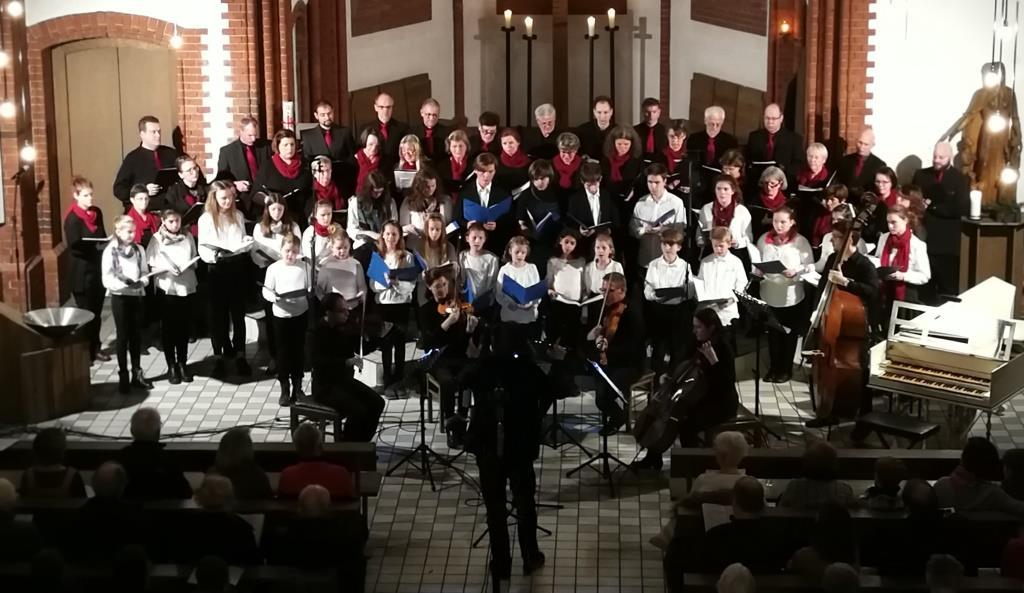 Wir singen wieder. Probenstart der Chöre von St. Josef.