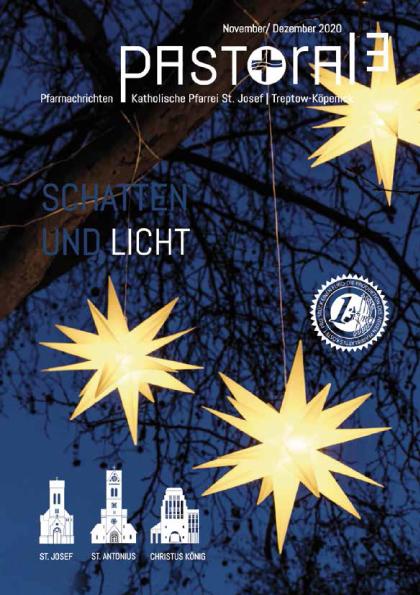 """Neues Pfarrnachrichtenmagazin """"Pastorale"""" für November und Dezember"""