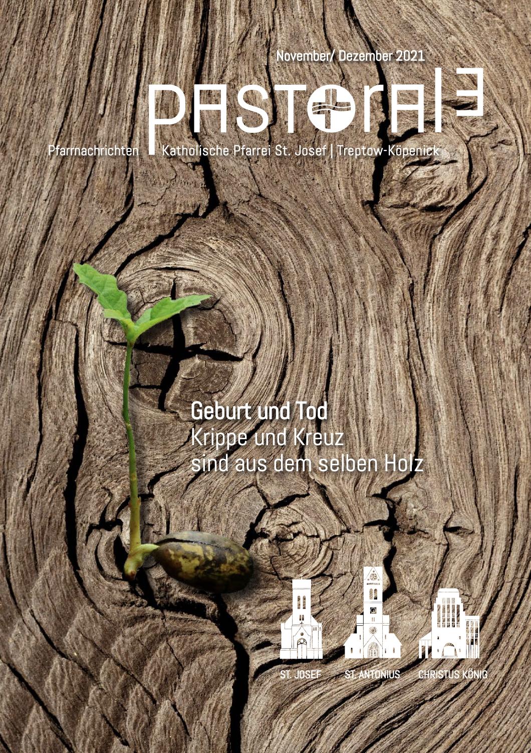 """Pfarreimagazin """"PASTORALE"""" für November / Dezember erschienen"""