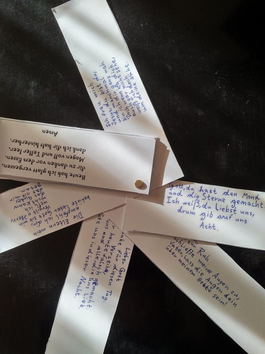 Die schönsten Gebete der Kommunionkinder