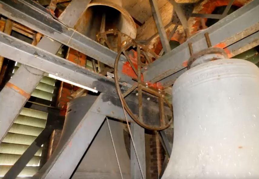 Vollgeläut der kath. St. Josefkirche Berlin – Köpenick (Turmaufnahme)