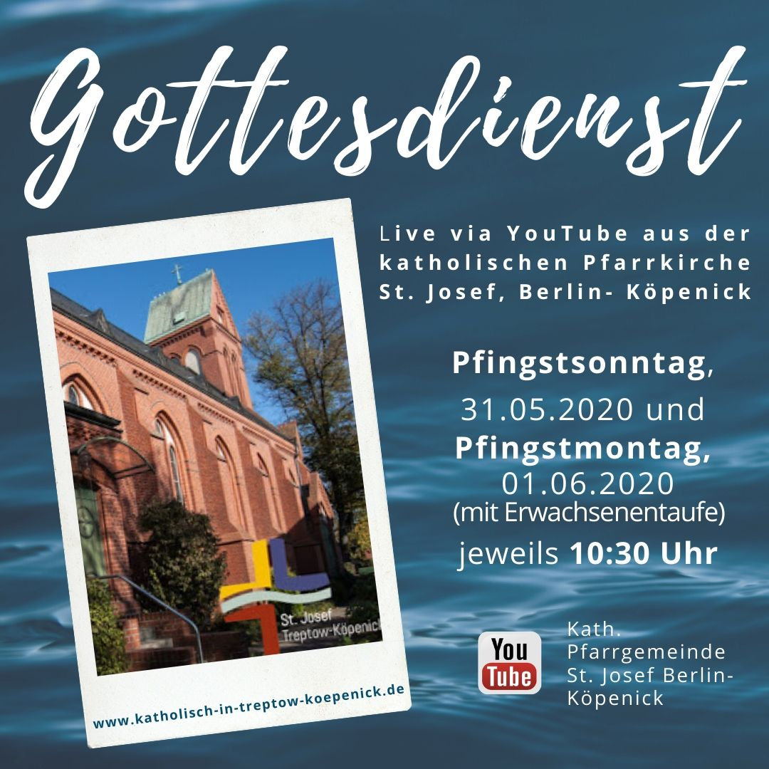 Pfingsten: Gottesdienste in St. Antonius