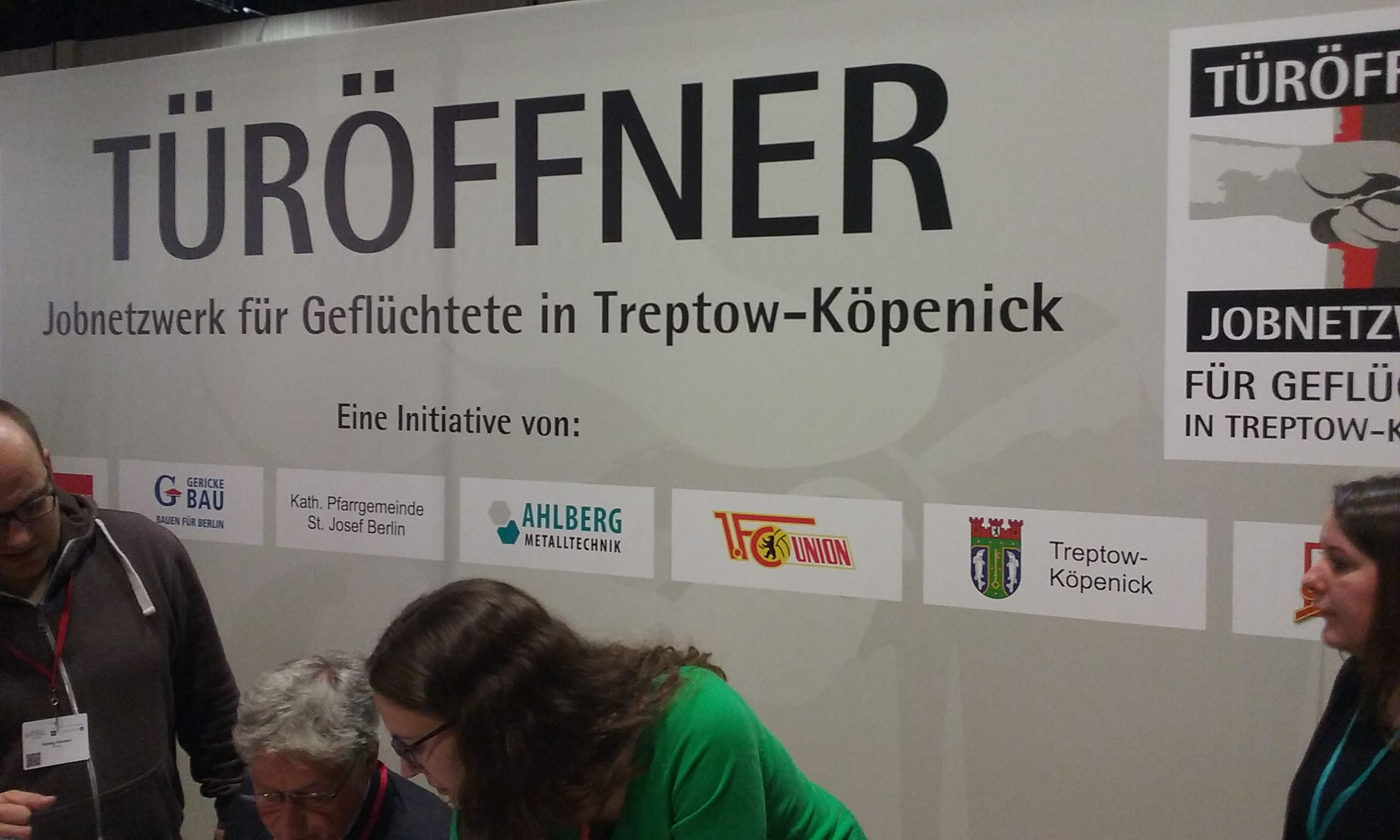 """""""Türöffner – Jobnetzwerk für Geflüchtete in Treptow-Köpenick"""""""