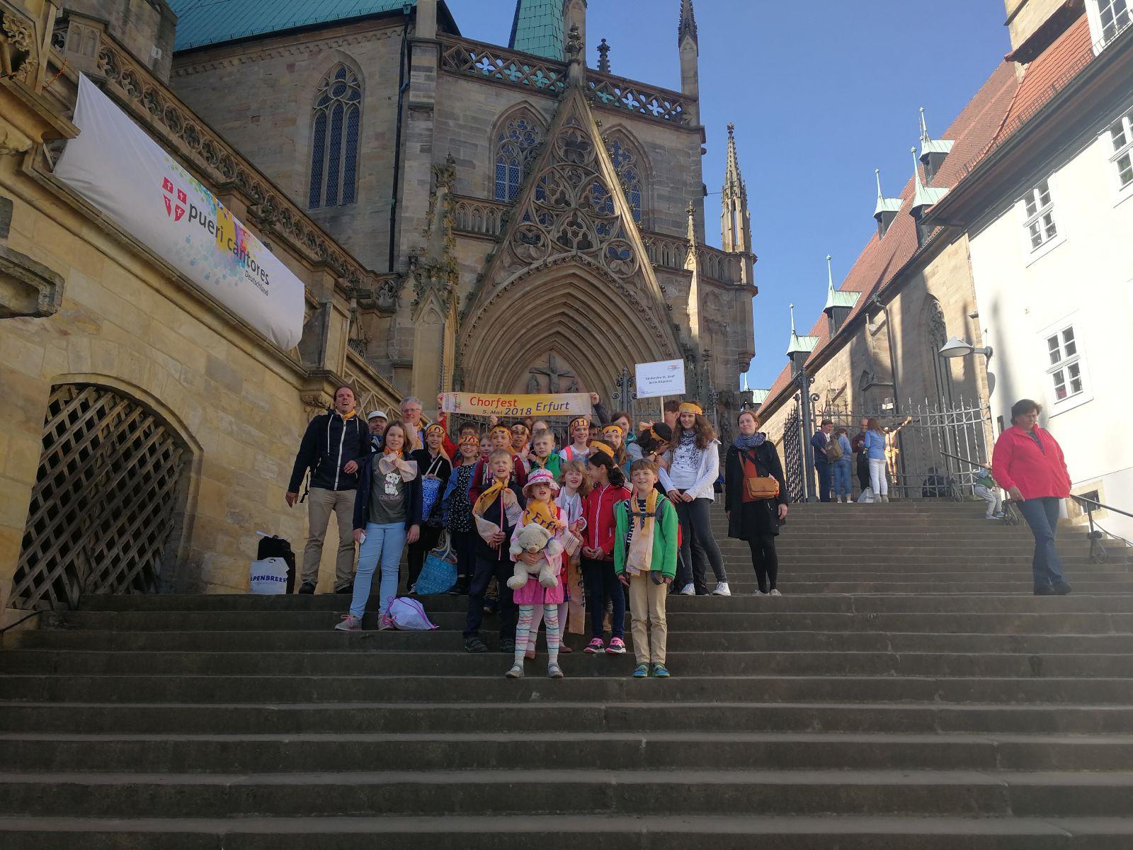 PUERI CANTORES – Chorfest 2018 in Erfurt – Wir waren dabei!