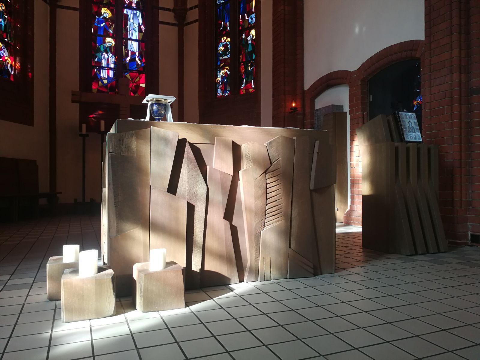 01.04.2020 – Mittwoch der 5. Woche der Fastenzeit – Heilige Messe aus der Kirche St. Josef Köpenick