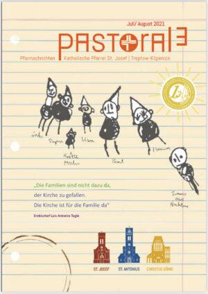 Neues Pfarreimagazin PASTORALE für Juli / August erschienen