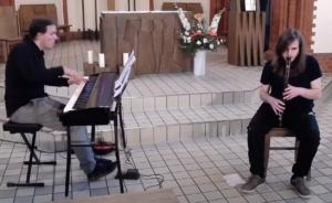 Konzert an Pfingstsonntag   Nacht der Musik – Jazzexperiment für Blockflöten und Klavier