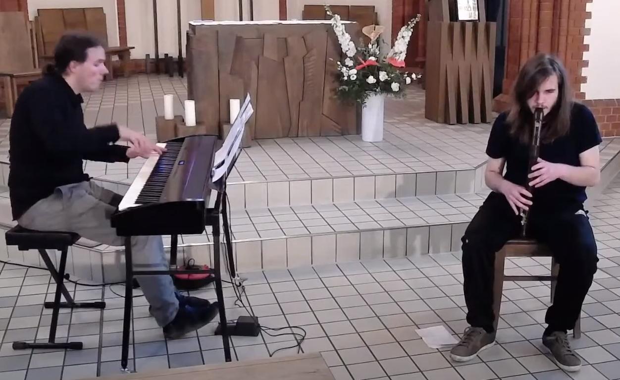 Konzert an Pfingstsonntag | Nacht der Musik – Jazzexperiment für Blockflöten und Klavier