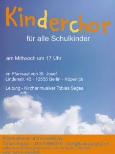 Plakat Kinderchorf Website