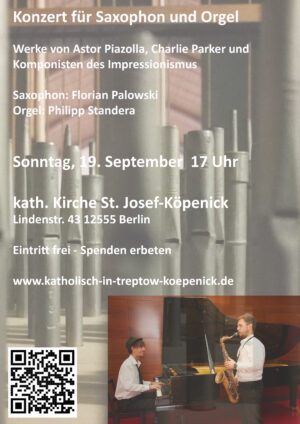 Konzert für Saxophon und Orgel