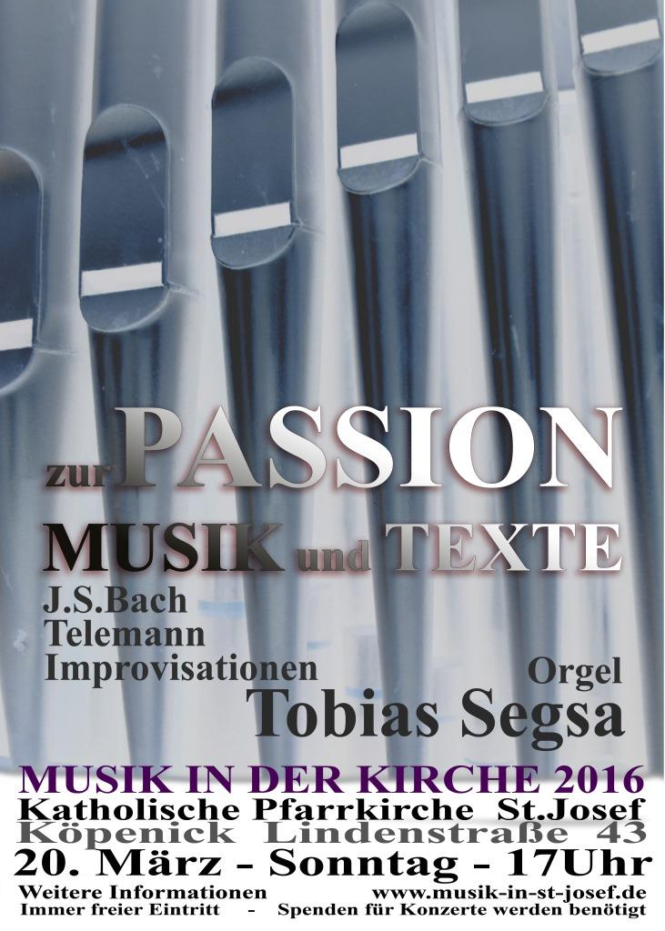 Passionsmusik am Palmsonntag 2016