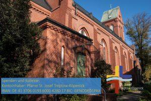 26.04.2020 10 Uhr 3. Sonntag der Osterzeit – Heilige Messe aus St. Josef
