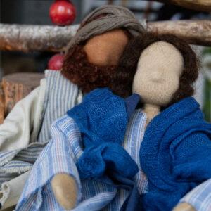 Maria und Josef auf Herberssuche