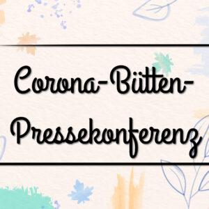 Zum Karneval: Eine Corona-Bütten-Pressekonferenz