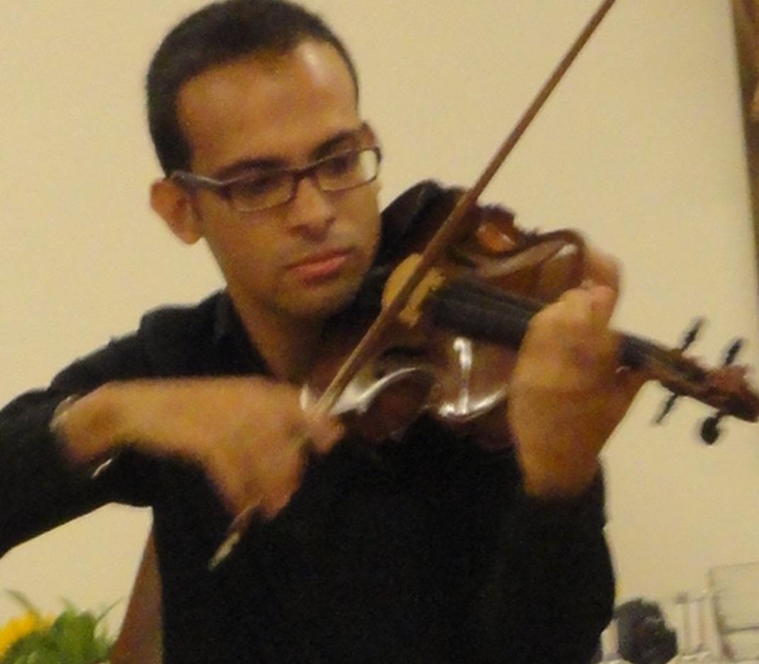 So, 17.1.16 17 Uhr Konzert für Violine und Orgel Violine: André Soares (Brasilien) Orgel: Tobias Segsa