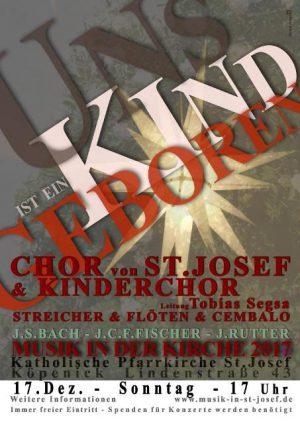 Vorweihnachtliches Konzert vom Chor und Kinderchor von St. Josef | So, 17.12.2017 um 17 Uhr