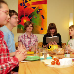 Kirche daheim: Ideensammlung für Familien
