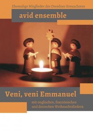 Nachweihnachtskonzert, Samstag, 13.1.2018 um 19.30 Uhr | Ensemble Avid aus ehemaligen Sängern des Dresdner Kreuzchores