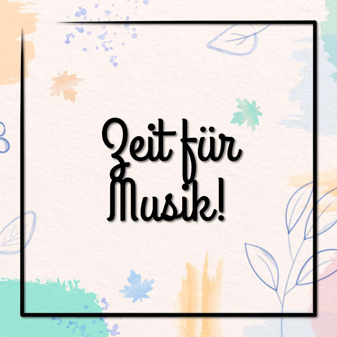 Zeit für Musik in der Mini-Jugend