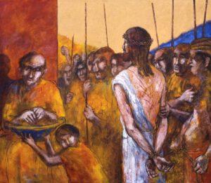 Jesus wird zum Tode verurteilt | 1. Station auf dem Online-Kreuzweg