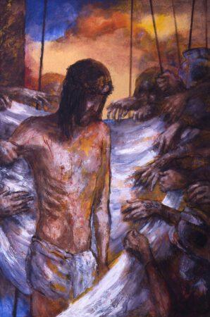 Jesus wird  seiner Kleider beraubt | 10. Station auf dem Online-Kreuzweg