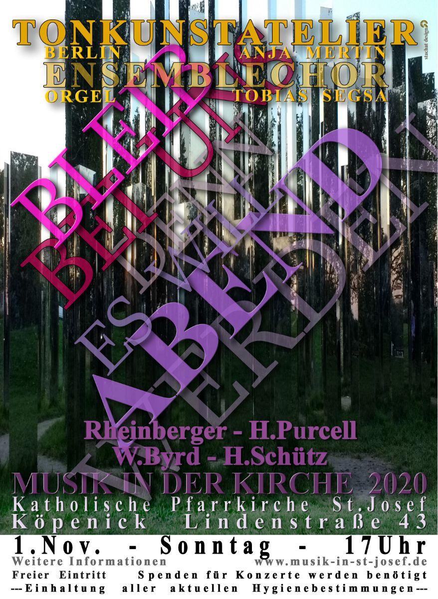 Konzert in St. Josef an Allerheiligen 1.11. 17 Uhr – LIVE und im LIVESTREAM
